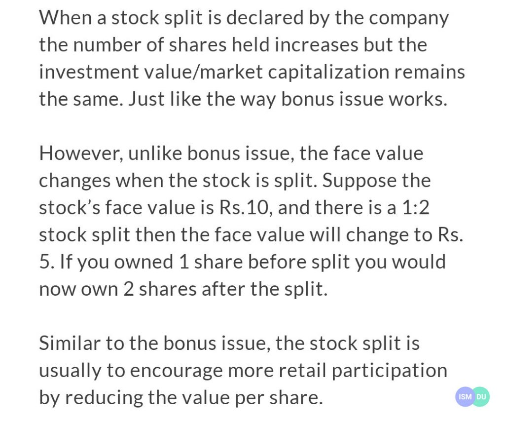 What is Stock Split